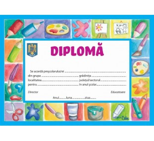 Diploma - Micul pictor