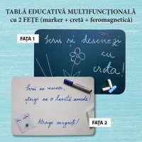 Tabla educativa multifunctionala (format A4)
